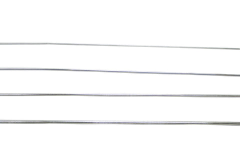 French Wire, 1.1 mm, Silver