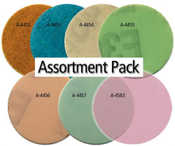 "Foredom 2"" Diamond Microfinishing PSA DISC Assortment-7 Grits"