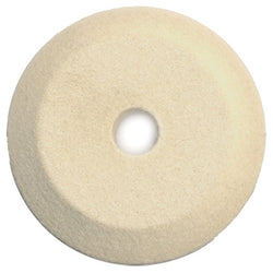 "Foredom 2"" Knife Edge Felt Wheel, 3/8"" Arbor Hole"