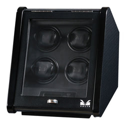 Volta Slanted 4 Watch Winder - Carbon Fiber