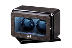 Volta 2 Watch Winder With Rotating Base - Black Oak