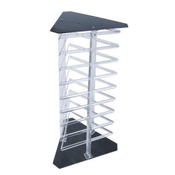 Three Sided Acrylic Revolving Earring Display Rack
