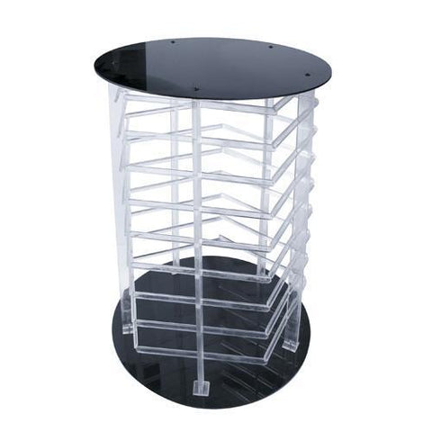 Five Sided Acrylic Revolving Earring Display Rack - 6 Pieces