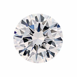 CZ Round Machine Cut Faceted Stone Cubic Zirconia Brilliant Ideal Cut White Clear 1.00-10.00mm