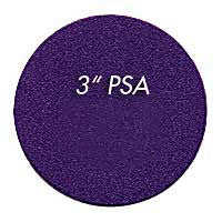 "Foredom 3"" Ceramic Purple PSA DISC 60, 80, 120, 220 grit"