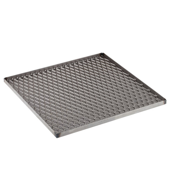 "12""x 12"" Stainless Steel Paragon Wax Tray for Large Firebrick Furnace"