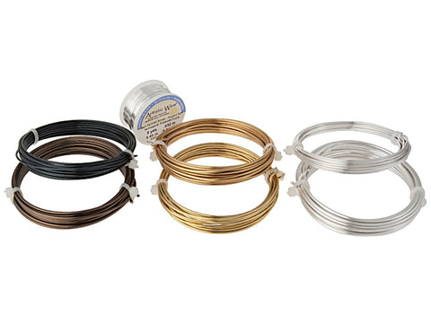 Artistic Wire Kit For Making Rings 3 Spools Each Of 14 And 16 Gauge 1 Spool Of 20 Gauge