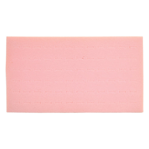 Pink 72 Ring Display Foam 14 1/4'' W x 7 5/8""