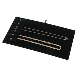 Necklace Display Pad with Snaps - 93 - 24 Pieces