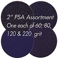 "Foredom AK5680 Ceramic Purple PSA Disc Assortment, 2"", 4-Pc"