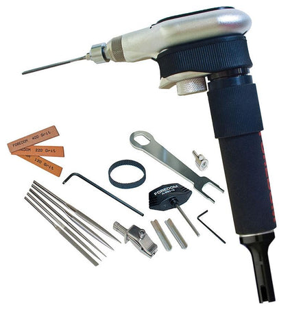 Foredom AK89130SJ Filer Attachment with Carrying Case and Slip Joint Handpiece