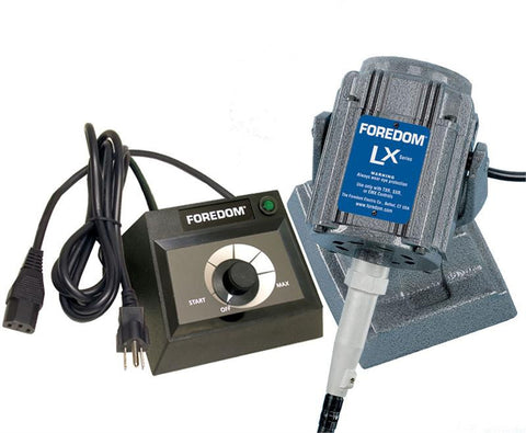 Foredom M.LXB-EMX Bench Motor with Dial Control