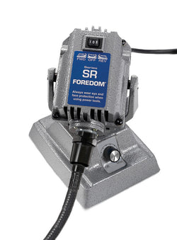 Foredom M.SRMH Bench Motor with Heavy Duty Shafting and Built-in Dial Control
