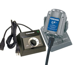 Foredom M.LXBH-EMX Bench Motor with Heavy Duty Shafting and Dial Control