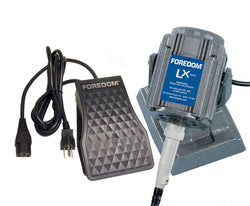 Foredom M.LXB-TXR Bench Motor with Plastic Foot Control