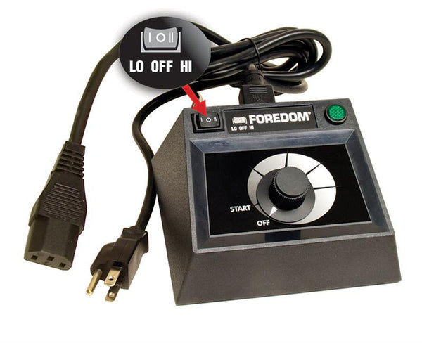 Foredom C.EMXF-1 Table Top Control, Dual Speed Range-TX Motors