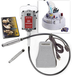 Foredom K.5200 Deluxe Woodcarving Kit, with 2 Handpieces, 230 Volt