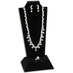 Tall Combination Necklace, Earring, and Ring Display Stand - F9-18