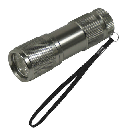 "9 UV Wave Length Non-Rolling Flashlight 4"" Ultra Violet Diamond Grading Light"
