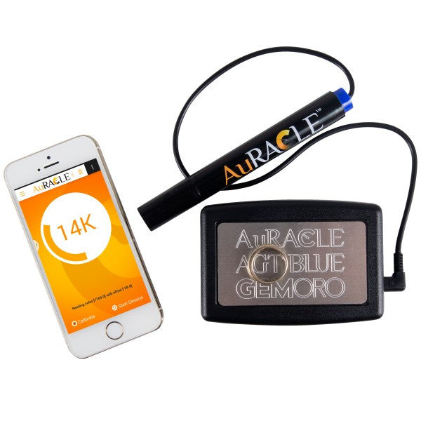Gemoro Auracle AGT Blue  - Bluetooth Mobile Gold & Platinum Tester