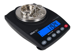 GEMORO PRO1001DXP Proffesional Series Jewelry Scale 1000g x 0.01g, dwt, ozt, oz, mom, ct, gn, and lb