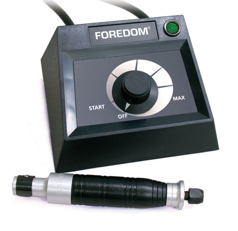 Foredom K.EM-50 Dial Speed Control with Handpiece and Chisels
