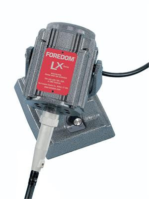 Foredom M.LXM Bench Motor with Built-in Dial Control, 230 Volt