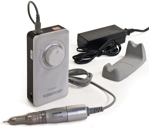 "Foredom K.1030 Portable Rotary Micromotor Kit, 2.35mm (3/32"") or 1/8"" Collet, 230 Volt-Int'l"