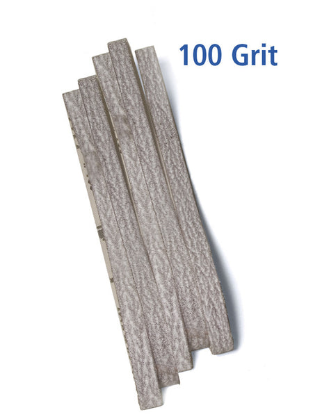 Foredom Sandpaper Belts, 100 grit, 5-pk, 7mm or 10mm