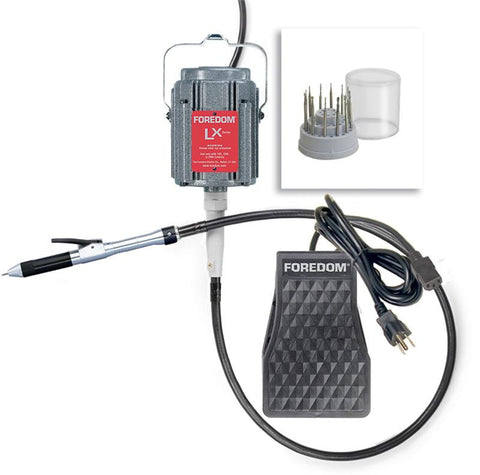 Foredom K.2240 Stone Setting Kit, Quick Change, 230 Volt-Int'l