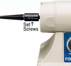 Foredom UA117-4 Set Screws for BL Lathe Attachment, Flexade, 4pk