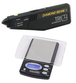 Tri Electronics Diamond Tester W/ 1000 Gram Jewelry Scale Digiweigh