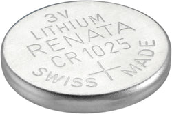 Swiss Made 10 x Renata CR1025 Watch Batteries, 3V Lithium, 1025