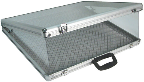 Aluminum Carrying Case 24''W x 20''D x 3''H