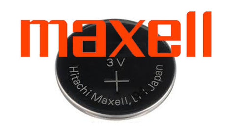 MAXELL Watch Battery 3V Button Cell  Lithium Batteries CR2032
