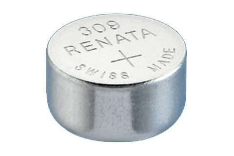 RENATA WATCH  BATTERY 1.55V SWISS MADE BATTERIES 309 SR754SW