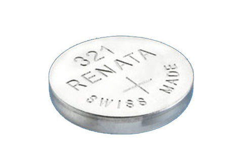 RENATA WATCH  BATTERY 1.55V SWISS MADE BATTERIES 321 SR616SW