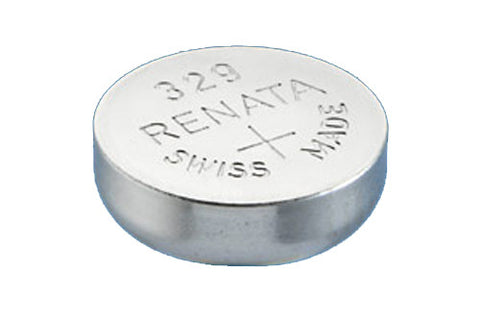 RENATA WATCH  BATTERY 1.55V SWISS MADE BATTERIES 329 SR731SW