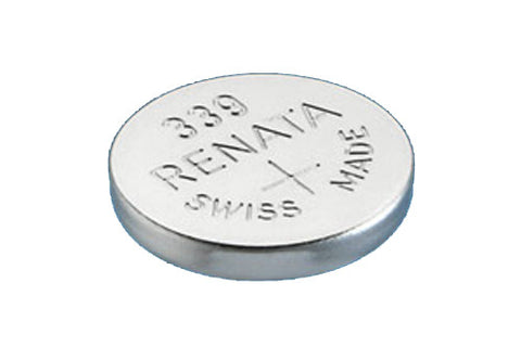 RENATA WATCH  BATTERY 1.55V SWISS MADE BATTERIES 339 SR614SW