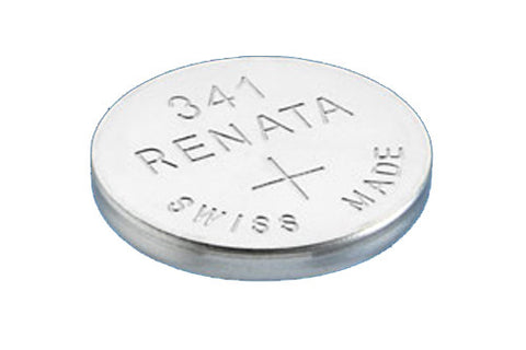 RENATA WATCH  BATTERY 1.55V SWISS MADE BATTERIES 341 SR714SW