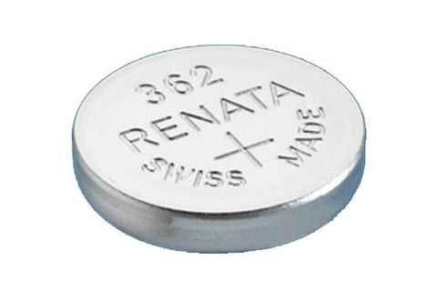RENATA WATCH  BATTERY 1.55V SWISS MADE BATTERIES 362 SR721SW