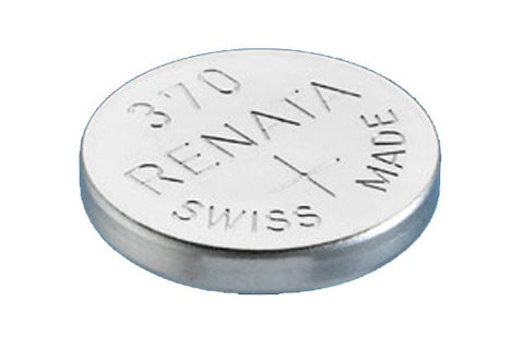 RENATA WATCH  BATTERY 1.55V SWISS MADE BATTERIES 370 SR920W