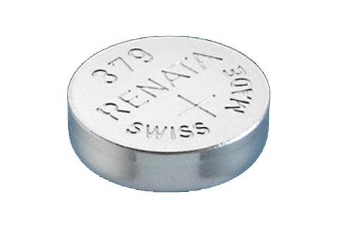 RENATA WATCH  BATTERY 1.55V SWISS MADE BATTERIES 379 SR521SW