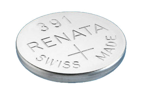 RENATA WATCH  BATTERY 1.55V SWISS MADE BATTERIES 391 SR1120W