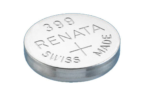 RENATA WATCH  BATTERY 1.55V SWISS MADE BATTERIES 399 SR927W