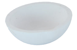 "3.00"" 100 dwt (155 grams) Ceramic Silica Crucible"