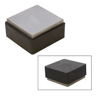 Bench Block-steel And Rubber, 2""