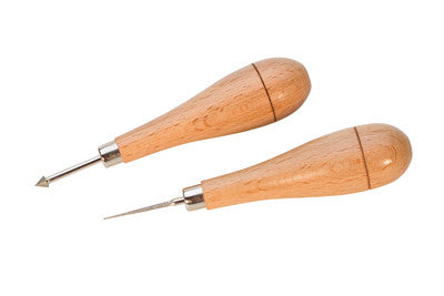 2 Pc Bead Reamer Set W/ Wood Handles