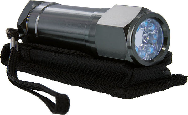 "8 UV Wave Length Non-Rolling Flashlight 4"" Ultra Violet Diamond Grading Light"