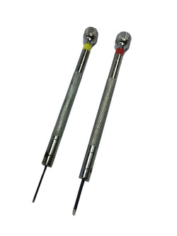 2 piece Precision Jeweler Screw Driver Set